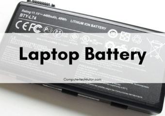 1.1 Battery – Hardware/Device Replacement
