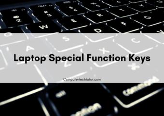 1.3 Laptop Special Function Keys