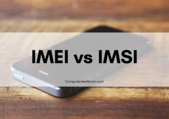 1.6 IMEI vs. IMSI