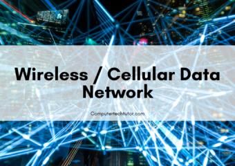 1.6 Wireless/Cellular Data Network