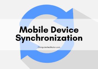 1.7 Mobile Device Synchronization