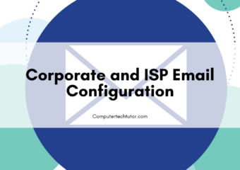 1.6 Corporate and ISP email configuration