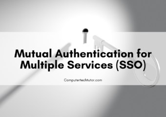 1.7  Mutual Authentication for Multiple Services (SSO)
