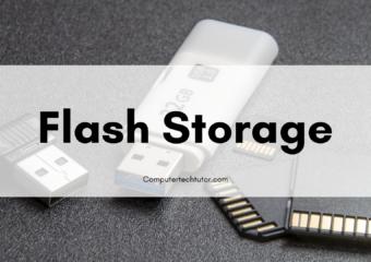 3.4 Flash Storage
